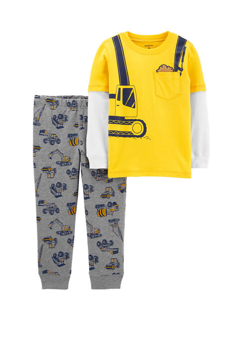 Carter's® Baby Boys 2 Piece Construction Layered Look