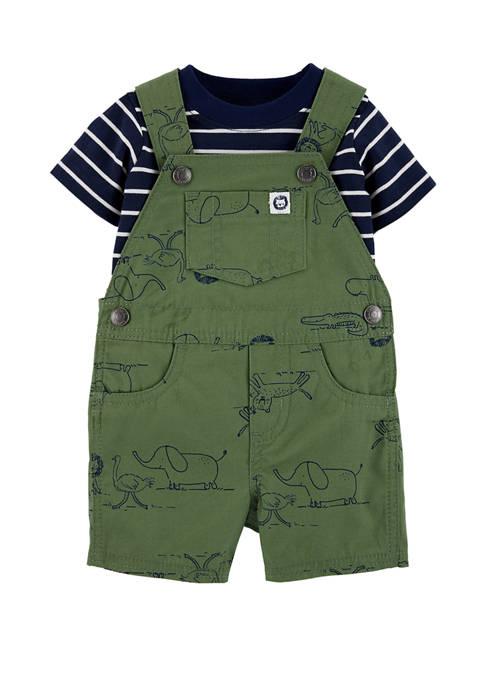 Carter's® Baby Boys 2 Piece Striped T-Shirt &
