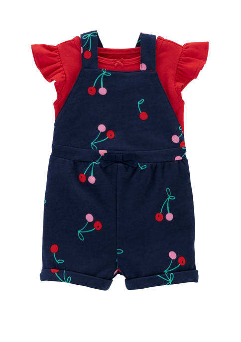 Carter's® Baby Girls 2 Piece Flutter T-Shirt &