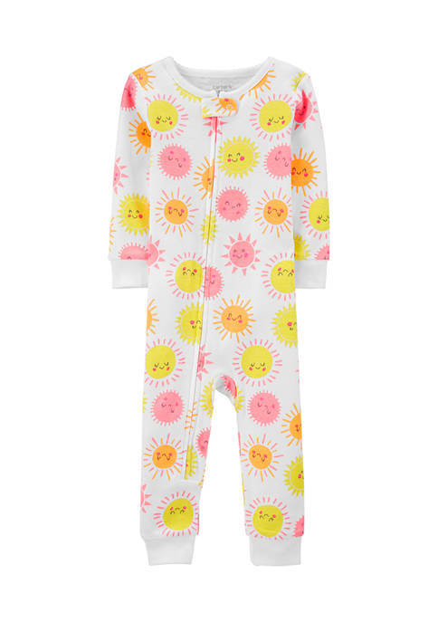 Carter's® Baby Girls One-Piece Snug Fit Cotton Footless