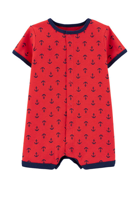 Carter's® Baby Boys Anchor Snap Up Romper