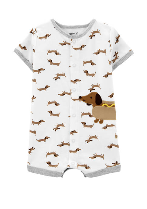 Carter's® Baby Boys Hot Dog Snap Up Romper