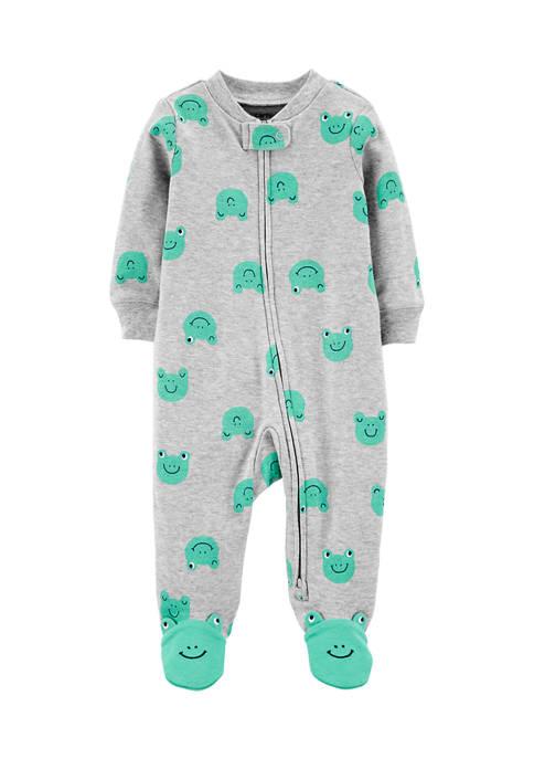 Carter's® Baby Boys Frog Footie Pajamas