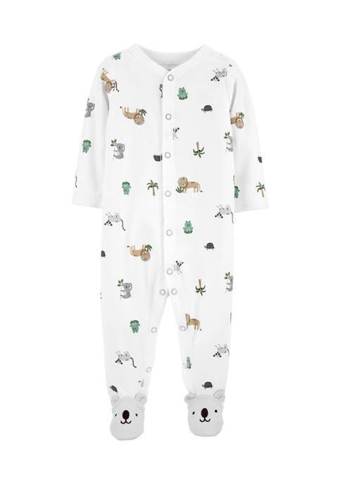 Carter's® Baby Boys Animal Footie Pajamas