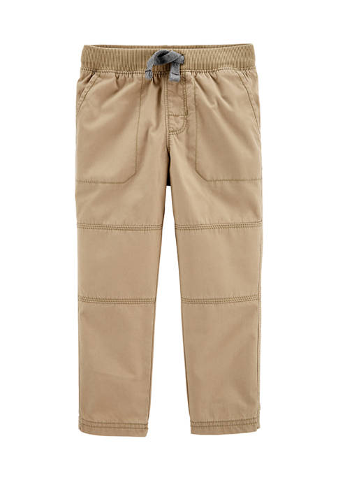 Baby Boys Pull-On Reinforced Knee Pants