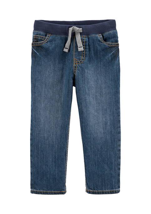 Carter's® Baby Boys Pull-On Denim Pants