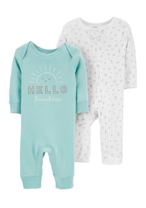 Carter's® Baby Boys 2 Pack Sunshine Bodysuits
