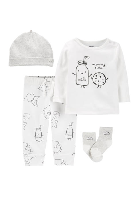 Carter's® Baby Boys 4 Piece Cookie Take-Me-Home Set