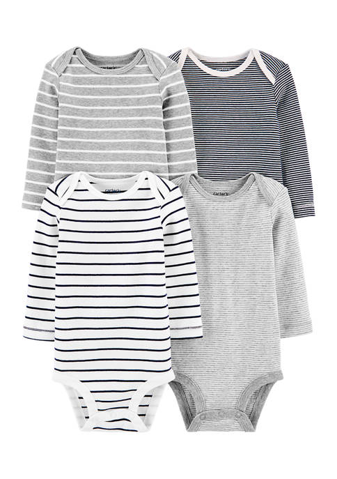 Carter's® Baby Boys 4-Pack Striped Original Bodysuits