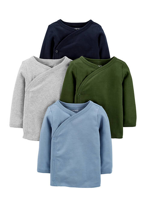 Carter's® Baby Boys 4-Pack Side-Snap Tees