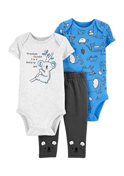 Carter's® Baby Boys 3-Piece Koala Little Character Set