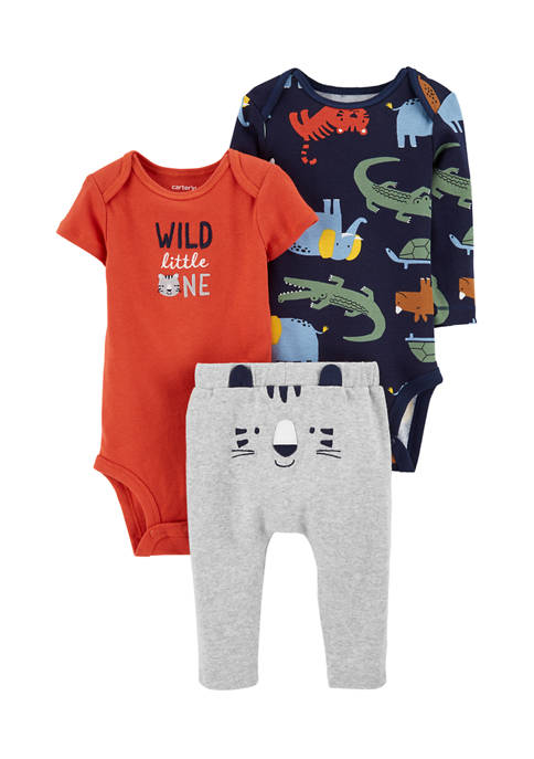 Carter's® Baby Boys 3 Piece Tiger Little Character