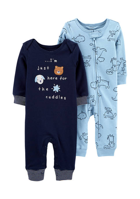 Carter's® Baby Boys 2 Pack Coveralls
