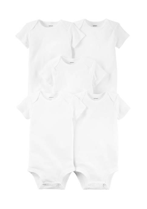 Carter's® Baby 5 Pack Short Sleeve Original Bodysuits