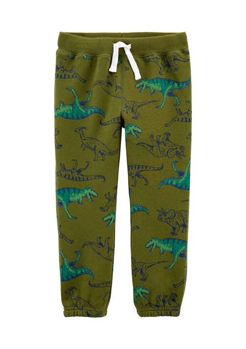 Baby Boys Dinosaur Pull-On Fleece Pants