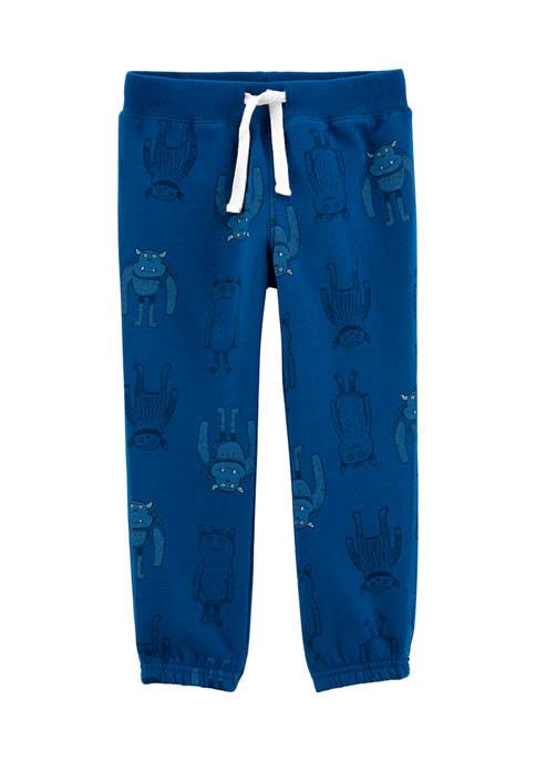 Baby Boys Pull-On Fleece Pants