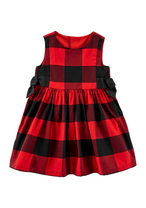 Carter's® Baby Girls Check Dress