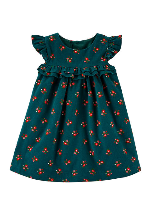 Baby Girls Emerald Dress