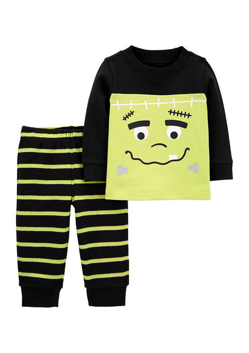 Carter's® Baby Boys 2-Piece Frankenstein Tee and Striped