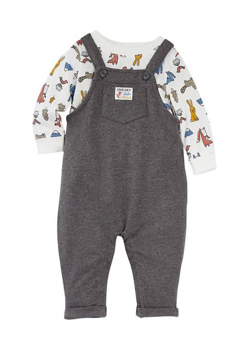 Carter's® Baby Boys Overalls Set
