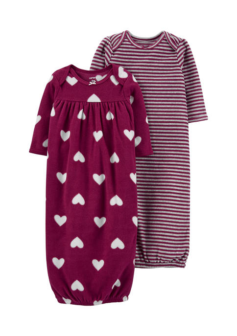 Carter's® Baby Girls 2 Pack Up + Down