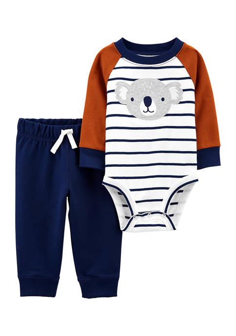 Carter's® Baby Boys 2 Piece Koala Bodysuit and
