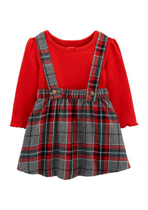 Carter's® Baby Girls 2 Piece Dress Set