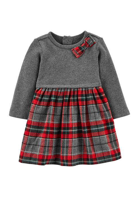 Carter's® Baby Girls Plaid Dress