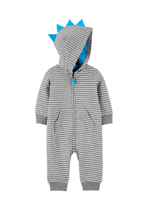 Carter's® Baby Boys Zip-Up French Terry Jumpsuit