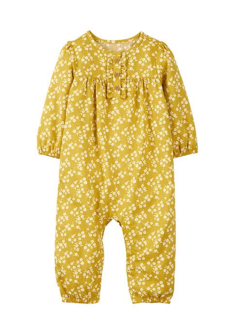 Baby Girls Yellow Jumpsuit