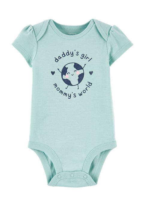 Baby Girls Graphic Bodysuit