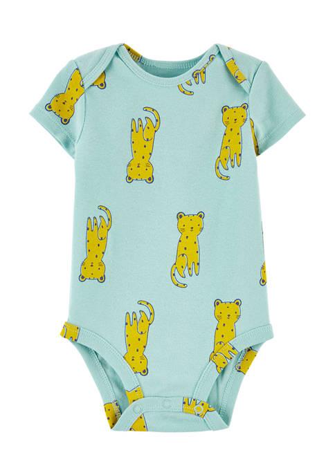 Baby Boys Printed One Piece Bodysuit