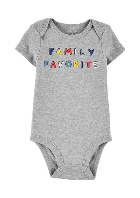 Baby Boys Family Favorite Bodysuit