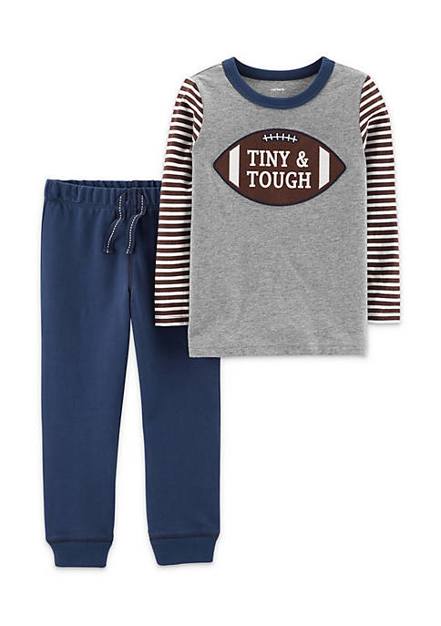 Carter's® Infant Boys 2-Piece Football Tee & French