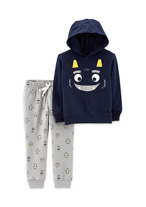 Carter's® Infant Boys 2-Piece Monster Hoodie And Jogger
