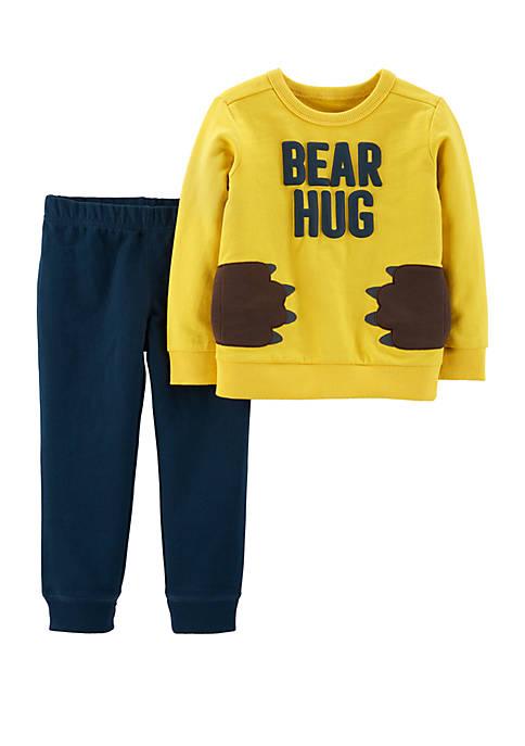 Carter's® Baby Boys 2-Piece Bear Hug Pullover and