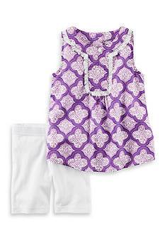 Carter's® 2-Piece Printed Tank & Playground Short Set
