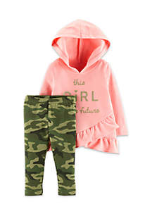 Infant Girls 2-Piece Girl Is The Future Set