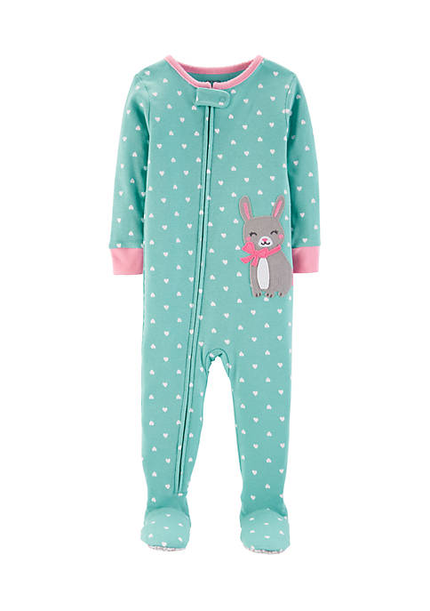 Carter's® Toddler Girls One-Piece Bunny Snug Fit Cotton