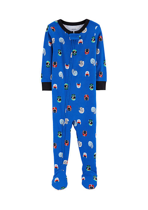 Carter's® Toddler Boys One-Piece Snug Fit Cotton Pajamas