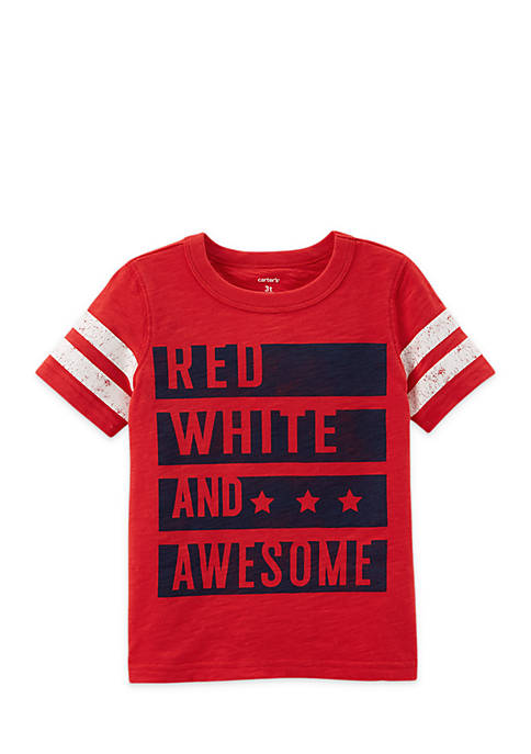 Carter's® Toddler Boys Jersey Graphic Tee