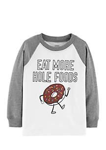 Boys 2-7 Long Sleeve Donut Tee