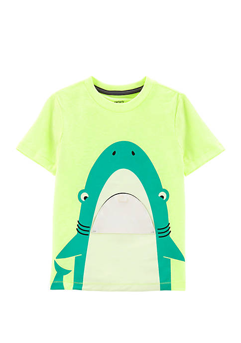 Carter's® Toddler Boys Neon Shark Pee-A-Boo Flap Snow