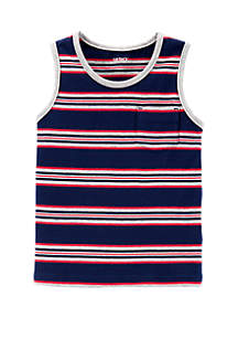 Carter's® Toddler Boys Striped Jersey Tank