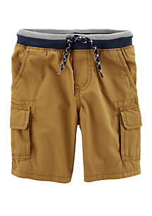 Carter's® Toddler Boys Pull-On Cargo Shorts