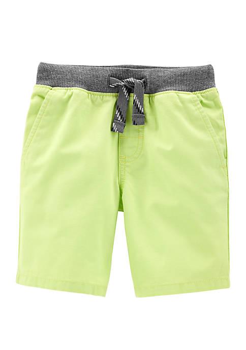 Toddler Boys Easy Pull-On Dock Shorts