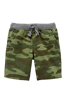 Carter's® Toddler Boys Camo Easy Pull-On Dock Shorts