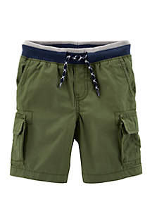 Carter's® Toddler Boys Easy Pull-On Cargo Shorts