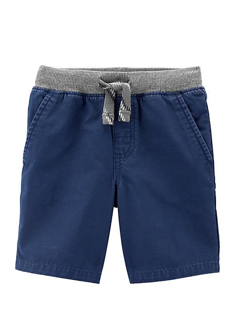 Toddler Boys Easy Pull-On Cargo Shorts