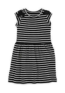 Toddler Girls Stripe Dress